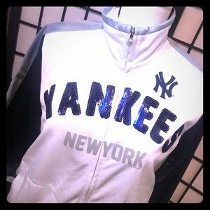 New York Yankees Baseball Jacket Ladies Med NWT ⚾️